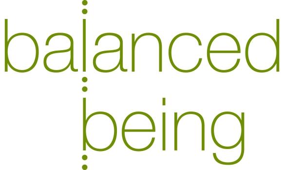 balanced being